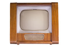 The Old TV Stock Photo