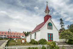 Free The Oldest Wooden Chapel In Canada Stock Photo - 90307730