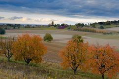 Free The Ortenau Area In Germany In Late Autumn Stock Photos - 130596203