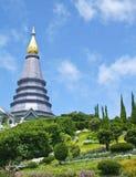 The Pagoda On Doi Inthanon Stock Photo