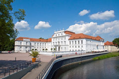 The Palace Of Oranienburg In Brandenburg Stock Image