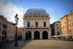 Free The Palazzo Della Loggia, A Renaissance Palace In Brescia, Italy, Current Site Of The City Council Stock Photos - 107056763