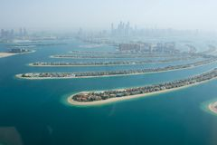 Free The Palm Artificial Island View 2 Royalty Free Stock Image - 107696926
