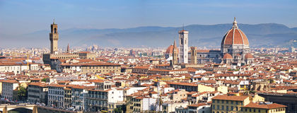 The Panorama Of Florence Royalty Free Stock Images