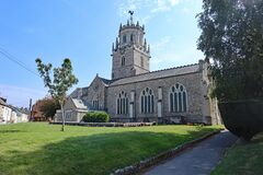 Free The Parish Church In The Small Town Of Colyton In Devon Royalty Free Stock Photography - 206418497