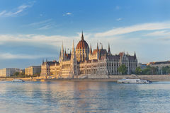 Free The Parliament In Budapest Stock Photo - 16036540