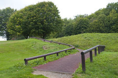 Free The Path To The Next Tee At A Beautiful Golf Course Royalty Free Stock Image - 37903316