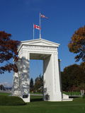 The Peace Arch Monument Royalty Free Stock Photography