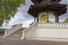 The Peace Pagoda Of Battersea Park Royalty Free Stock Photography