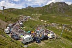 Free The Peloton On Col Du Tourmalet - Tour De France 2018 Stock Images - 152867084