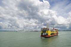 Free The Penang Ferry Boat Stock Images - 9737124