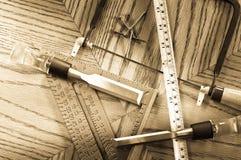 The Perfect Bird House ( Carpentry Concept ) Royalty Free Stock Photos