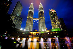 Free The Petronas Twin Towers Stock Images - 26477004