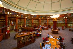 The Picton Reading Room At Liverpool Central Library Royalty Free Stock Photography