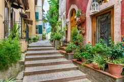 Free The Picturesque Town Of Gargnano On Lake Garda. Province Of Brescia, Lombardia, Italy. Royalty Free Stock Image - 168748666