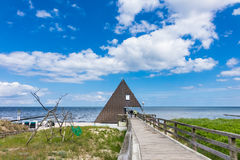 The Pier In Koserow On The Island Usedom Royalty Free Stock Image