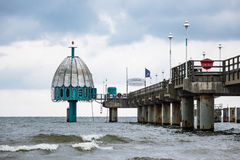 The Pier In Zinnowitz On The Island Usedom Stock Image