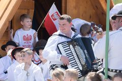 Free The Polish Constitution Day Parade 2018 Stock Images - 130136314