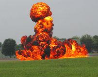 The Power Of Napalm! Stock Image