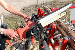 The Power Saw Royalty Free Stock Photo