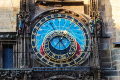 Free The Prague Astronomical Clock, Or Prague Orloj Is A Medieval Clo Royalty Free Stock Photography - 133790527