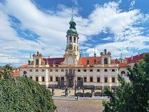 The Prague Pilgrim Place Loreta Royalty Free Stock Image