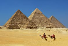 Free The Pyramids In Egypt Royalty Free Stock Photos - 27446938