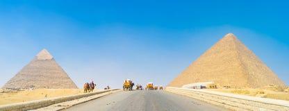 The Pyramids Of Giza Royalty Free Stock Photos