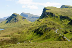 The Quirain, Isle Of Skye Stock Images