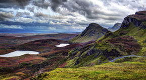 Free The Quiraing: Rain And Wind To October Evening Stock Photo - 82681010