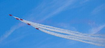 Free The Red Arrows RAF Aerobatic Display Team Stock Photography - 132361742