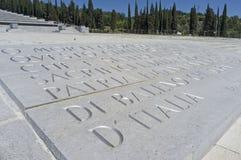 The Redipuglia Italian War Memorial Royalty Free Stock Photo