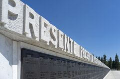 The Redipuglia Italian War Memorial Royalty Free Stock Images