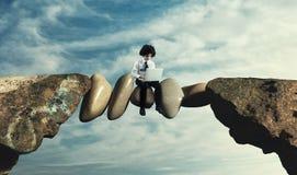 Free The Risky Path Stock Image - 150586821
