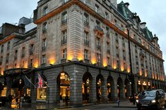 Free The Ritz London Is A Grade II Listed 5-star Hotel Located In Piccadilly In London, England. A Symbol Of High Society And Luxury Royalty Free Stock Photos - 174077968