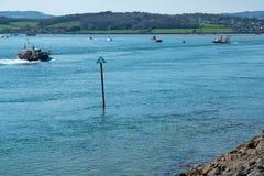 Free The River Exe Estuary Near Exmouth In Devon UK Stock Photo - 159256420
