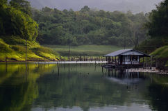 The River House. Stock Image