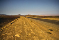 Free The Road In The Desert Stock Images - 3731434