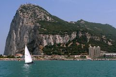 Free The Rock Of Gibraltar Royalty Free Stock Photography - 912947