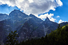 Free The Rocky Peaks Of The High Tatras Mountains Royalty Free Stock Image - 71712756