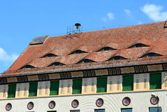Free The Roof Eyed In Sighisoara Stock Images - 78160184