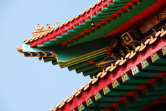 The Roof Of Chinese Temple Stock Photography