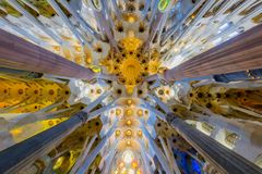 Free The Roof Of The Sagrada Familia Stock Photos - 118554213