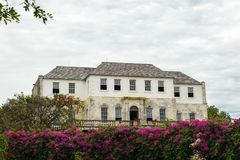 The Rose Hall Great House In Montego Bay, Jamaica. Popular Tourist Attraction. Royalty Free Stock Images
