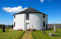 The Round Church Of Islay. Royalty Free Stock Image
