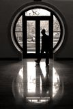 The Round Window Royalty Free Stock Photography