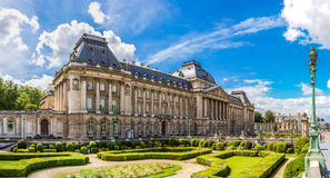 The Royal Palace In Brussels Royalty Free Stock Photo