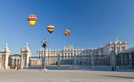 The Royal Palace In Madrid Royalty Free Stock Images