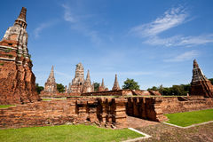 Free The Ruin Temple In Ayutthaya Royalty Free Stock Image - 21299686