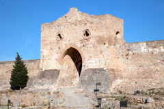 The Ruins Of A Medieval Fortress Stock Photography
